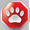 Pet Stop Sign